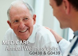 Medicare Annual Wellness Visits AWV G0438 G0439