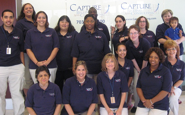 Capture Medical Billing Staff