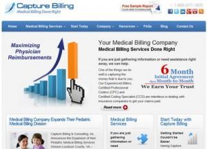 Medical Billing Company Website