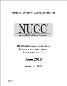 CMS-1500 Health Insurance Claim Form Reference Instruction Manual