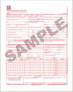 Sample CMS-1500 (02/12)