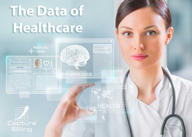 Infographic on the Data of Healthcare