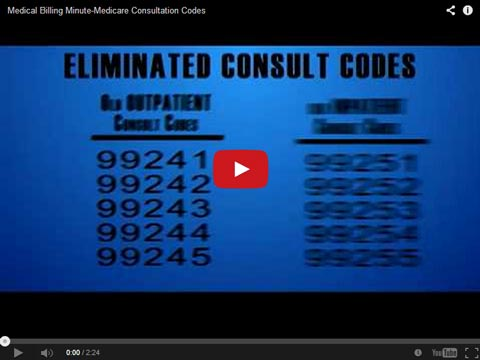 Medical Billing Tips: Medicare Consultation Codes