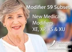 Medicare Modifiers XE XP XS XU