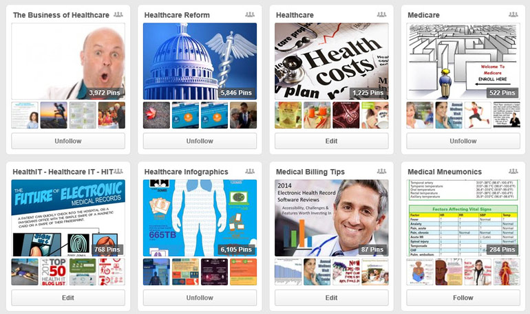 Medical Billing Pinterest Group Board