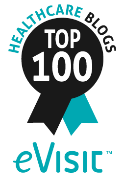 Top 100 Healthcare Blogs Badge