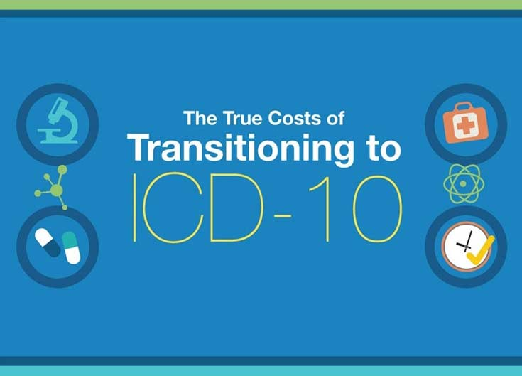 The True Cost of Transitioning to ICD-10: Infographic