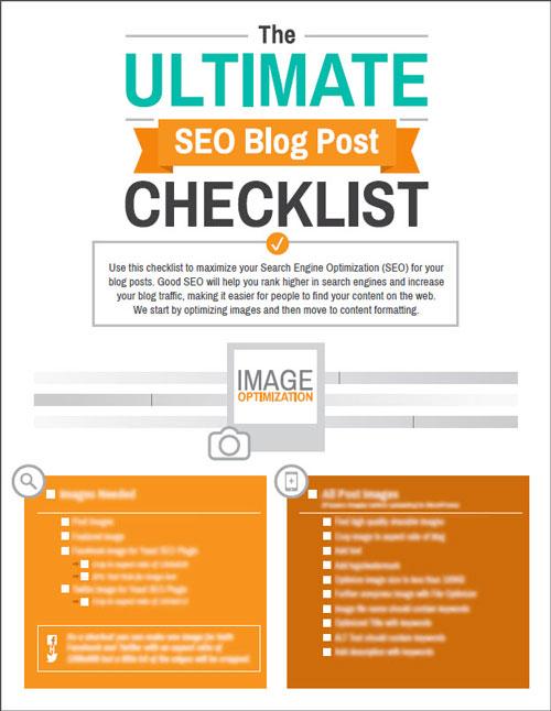 Ultimate SEO Blog Post Checklist